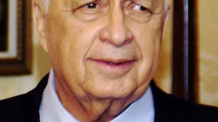 Former Israeli prime minister Ariel Sharon, who has died.