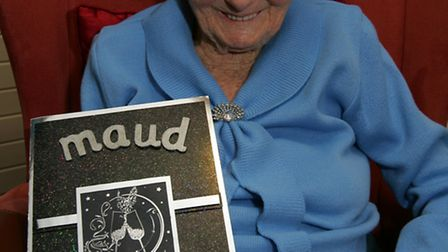 Maud Bailley turns 103 at Forest Dene Residential car home in Wanstead.