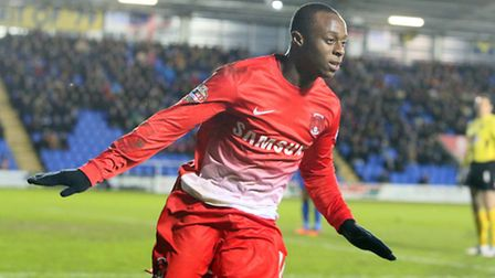 Moses Odubajo has been in sparkling form for Orient this season. Pic by Simon O'Connor