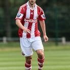 Jamie Ness scored Orient's second goal with a screamer. Pic from Stoke City FC