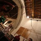 One of the bells in St Andrew's Church is cracked and needs replacing. The bellringers practice ever