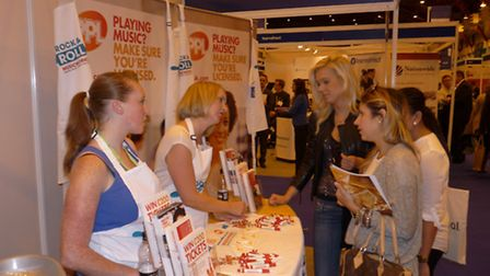 PPL's Business Relationship Manager, Julia Hiles at last year's The Restaurant Show at Earls Court