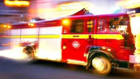 A fire broke out in Langton Avenue, E6, this morning