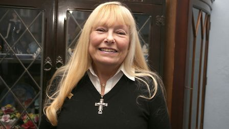 Janet Crossland, the leader of Ilford branch of Women's day of prayer