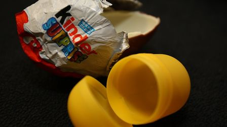 A 15 year old has been released on bail after police arrested him when they discovered a kinder egg
