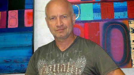 Jon Astrop's stolen paintings, worth more than £20,000, were found in Woodford Green