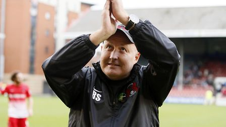 Leyton Orient manager Russell Slade. Simon O'Connor