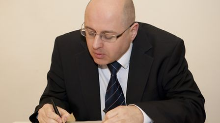 Leader of the council Cllr Keith Prince