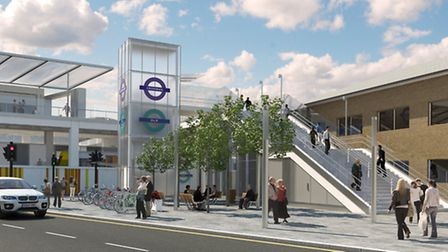 CGI of completed station (pic: Wagstaffs)
