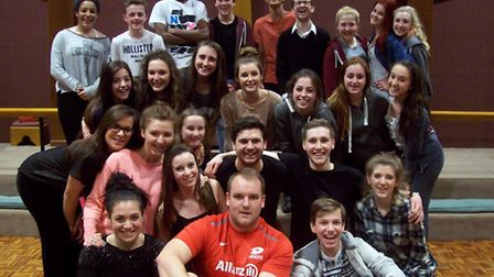 The cast of Grease have had just eight weeks to prepare for next week's production.