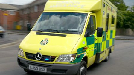 The man, thought to be in his 50s, is now in a stable condition