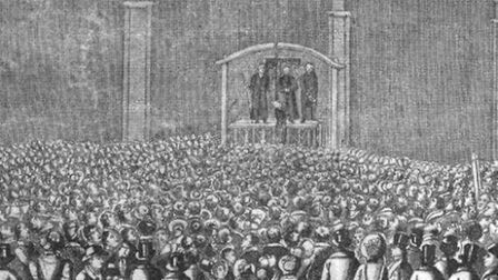 Foxton at one of his most famous executions