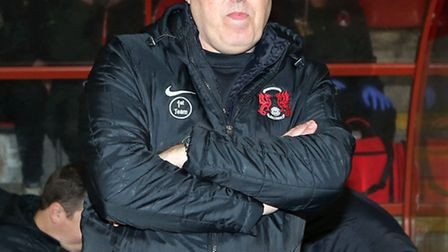 Leyton Orient manager Russell Slade. Rob Newell/TGSPHOTO