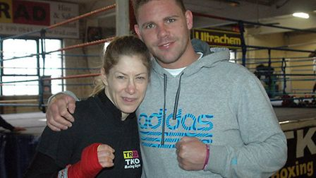 Billy Joe Saunders is backing Trad TKO Gym mate Marianne Marston for success (pic: Gianluca Di Caro)