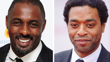 Idris Elba and Chiwetel Ejiofor who are both up for BAFTA awards