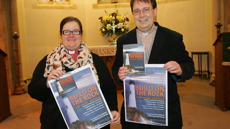 Rev's Kate Lovesey and Jon Evens promote the Lent course