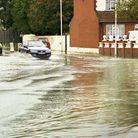 The River Roding is on flood alert