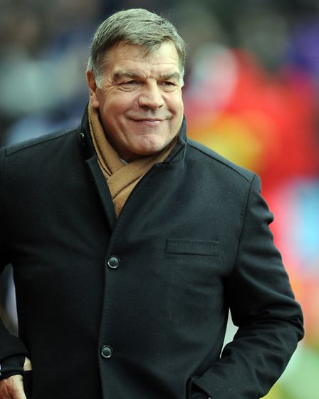 Sam Allardyce, manager of West Ham United. Photo by Clint Hughes/Getty Images
