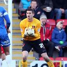 Orient goalkeeper Shwan Jalal delivered a shaky performance in the defeat to Bristol City