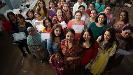Awaaz, a charity which promotes and protects the rights of women held an event at Vine Church Hall i