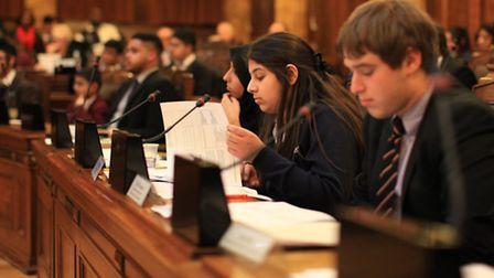 Young Cabinet at Redbridge Town Hall.