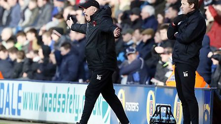 Orient manager Russell Slade has vowed to keep on fighting. Simon O'Connor