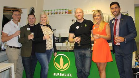 Centre leaders Paul Hurworth, Stuart Chance, Lousia Chance, Daniel Every, and owners Charlotte and G