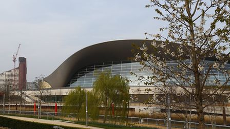 The London Aquatics Centre is one of three venues open to the public