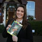 Lily Say, a pupil at Trinity Catholic High School, wrote a book when she was in Year 5