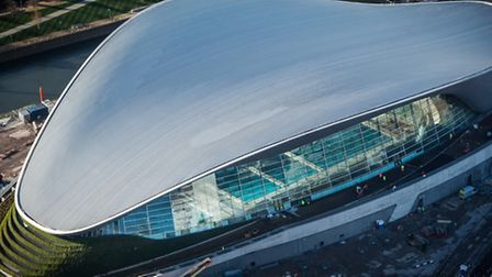The Aquatics Centre. Picture by Anthony Charlton for LLDC.