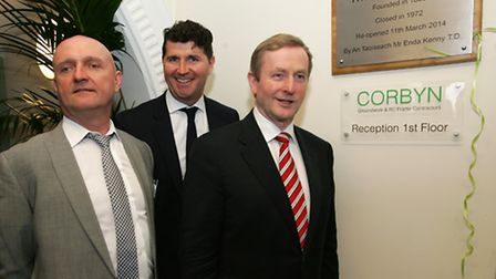 Irish Prime Minister Enda Kenny, opening The Gallions Hotel Grade II Listed Building in Albert Bas