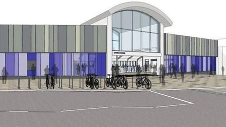This is one of the plans for the new entrance to Ilford station when Crossrail arrives. Picture: Net