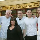 Ricky Prophet,Terry McDowell, Linda McDowell, Stacy McDowell, Danny Prophet and Lee Kelly outside th