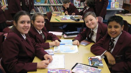 Students at Brittons Academy took part in fun learning activities to mark the day