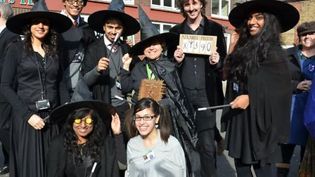 Staff and students at St Angela's Ursuline dressed up for World Book Day