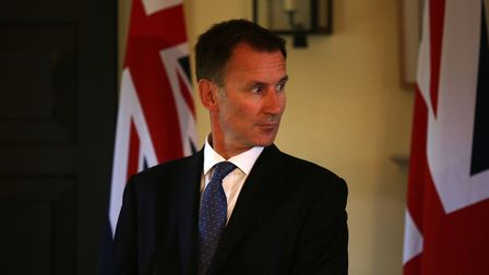 Foreign secretary Jeremy Hunt has been sent to Europe in a bid to pile pressure on Brussels Photo: