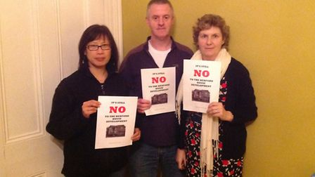 """Anne Chin, Stewart and Sue Brown are """"disgusted"""" with LJ Construction who want to demolish their hou"""