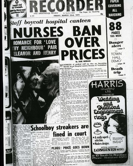 Romford and Hornchurch Recorder, March 22 1974.