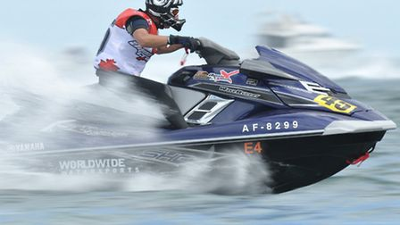 Powerboating will be coming to Docklands next week