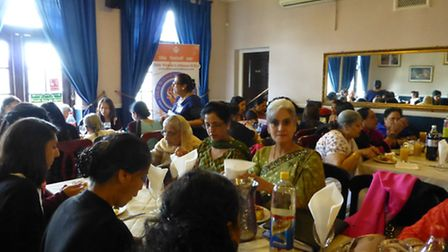 125 women attended the event on March 23