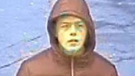 The BTP wish to speak to this man in connection with a Brentwood station assault. Picture: Essex Pol