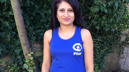 Mum of two Ramneek is getting ready to embark on her gruelling challenge