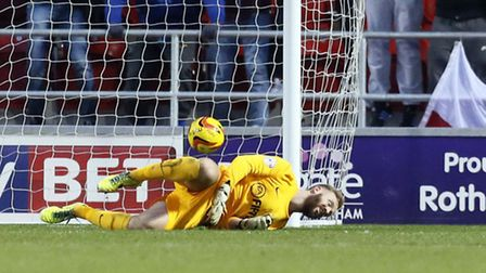 Ben Alnwick conceded a last-gasp winner in his only Orient appearance after signing in the January t
