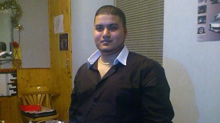 Mohammed Yasser Afzal, 22, of Forest Gate, was stabbed in the neck while working in minicab office (
