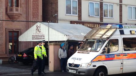 Police arrested people this morning in a pre-planned operation targeting illegal workers