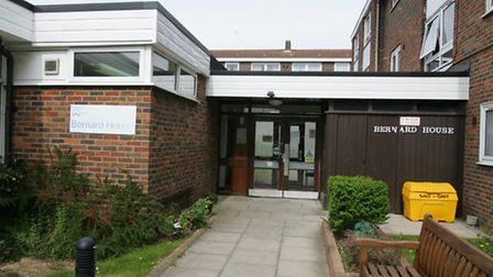 Sheltered accomodation was burgled by two men posing as policemen