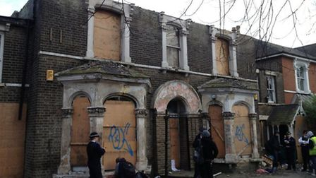 The former squat in Roman Road