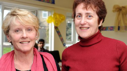 Christine Pulham (left) and Anne Carter