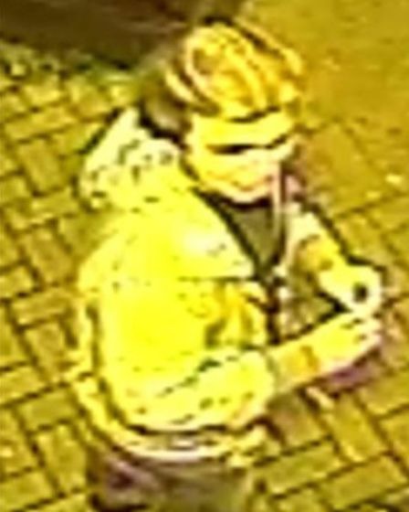 Police want to speak to this person in connection with an assault outside the Slug and Lettuce bar,