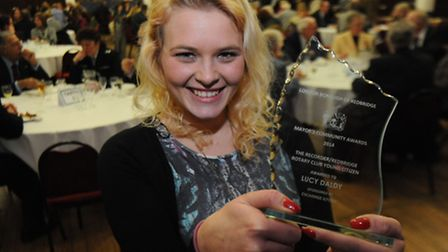 The Recorder/Redbridge Rotary Club Young Citizen Award winner Lucy Daldy.